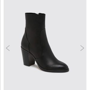 Dolce Vita Samie Leather Mid Sock Boots